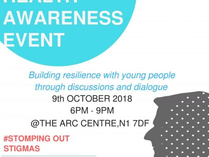 World Mental Health Awareness Event — Oct 2018