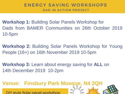 Energy Saving Workshops