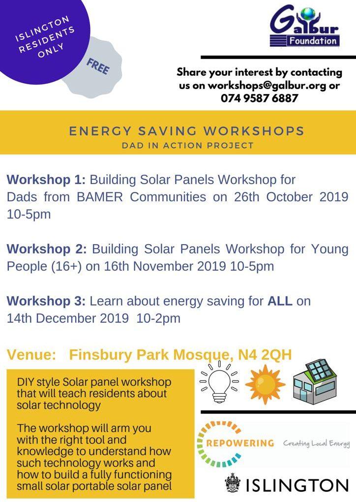 Energy Saving Workshops