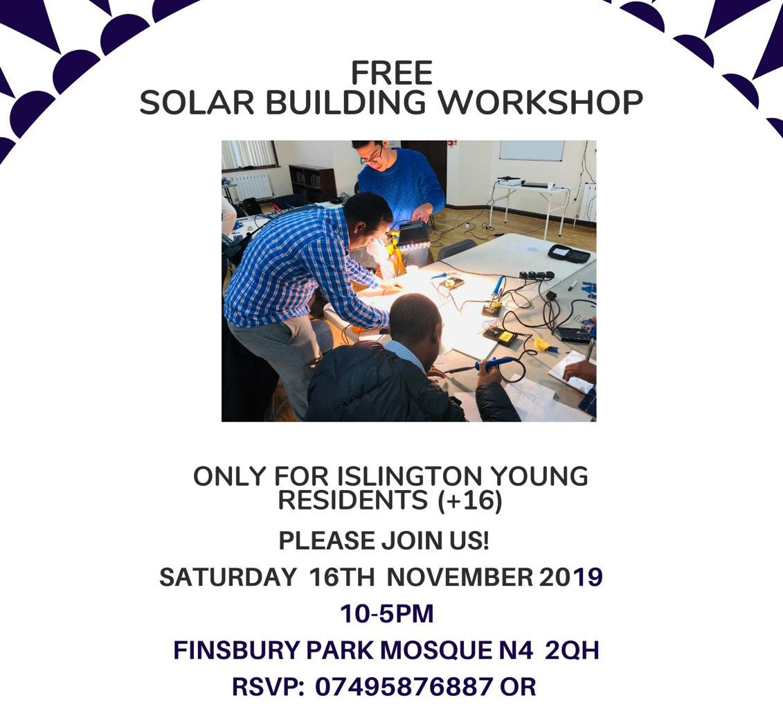 Free Solar Building Workshop